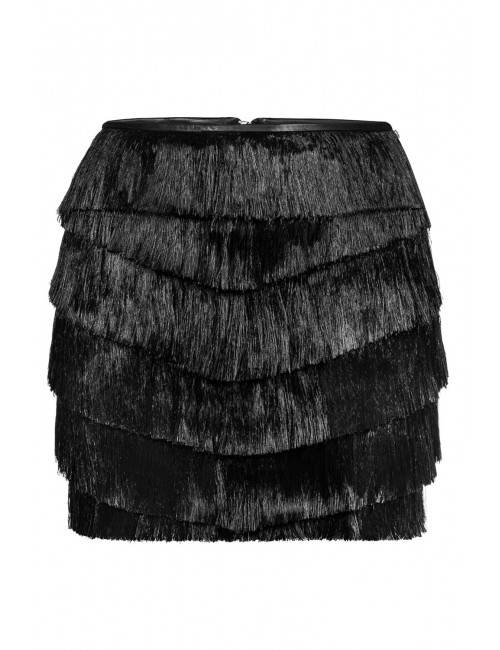 NYX Black fringe skirt