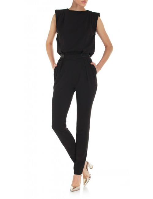 Black jumpsuit TINA