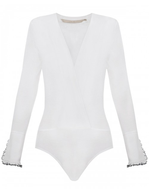 Barbarossa Bodysuit with decorative cuffs