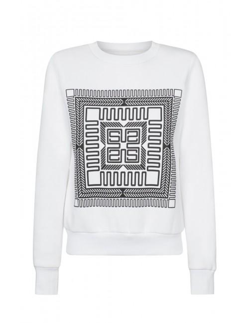 Harmony white sweatshirt