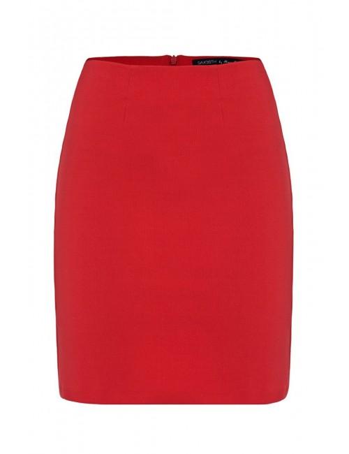 Czerwona spódnica PENCIL