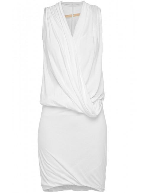 Drapowana sukienka z dzianiny TEINA