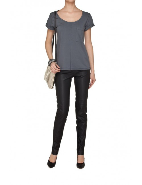 Classic grey t-shirt with pocket