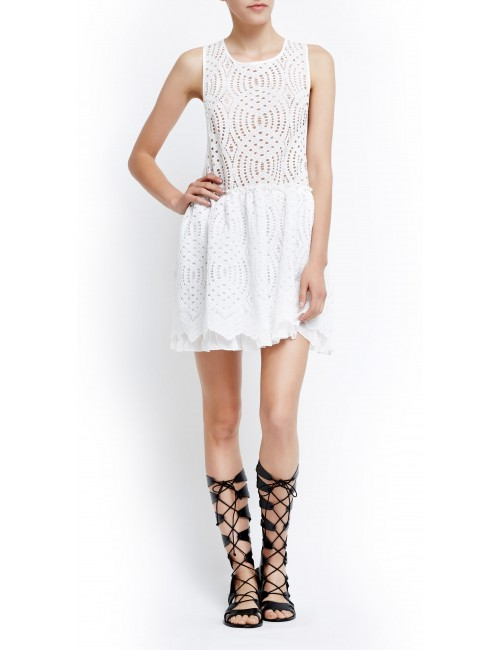 Lace beach dress POPPY