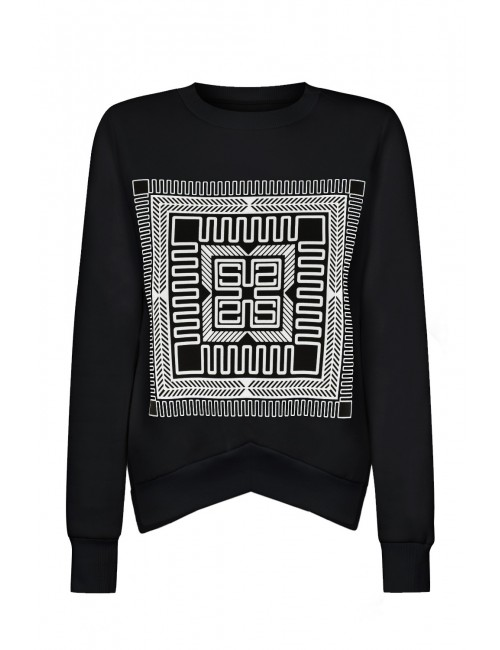 Naomi black sweatshirt